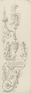 Monographie du palais de Fontainebleau : Salon des jeux de la Reine by Rodolphe Pfnor