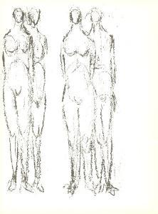 Deux couples by Rodolphe Raoul Ubac