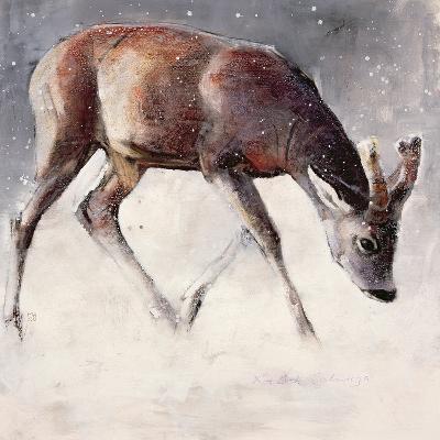 Roe Buck, Winter, 2000-Mark Adlington-Giclee Print