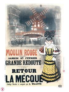 1897 Moulin Rouge  retour à la Mecque by Roedel