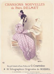 Chansons Nouvelles Piano Song by Roedel