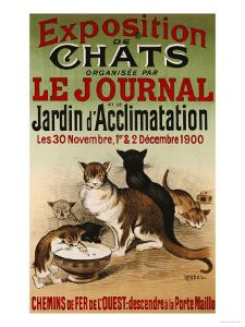 Exposition de Chats, 1900 by Roedel
