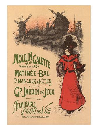 Moulin de La Galette, c.1896