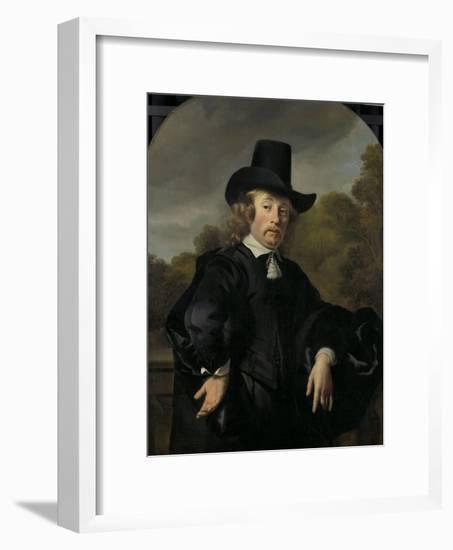 Roelof Meulenaer Amsterdam Mercantile Courier or Postmaster on the Antwerp Route-Ferdinand Bol-Framed Art Print