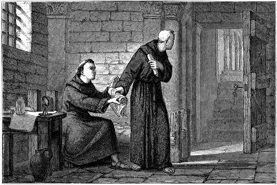Roger Bacon, English Experimental Scientist, Philosopher and Franciscan Friar--Giclee Print