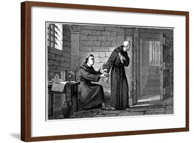 The Doctor  by Henry Bacon   Giclee Canvas Print Repro