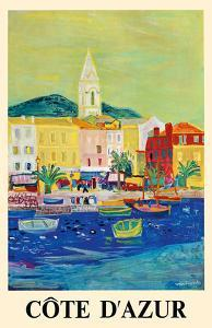 Côte d'Azur (French Riviera) - Port of Saint Tropez - SNCF (French National Railway Company) by Roger Bezombes