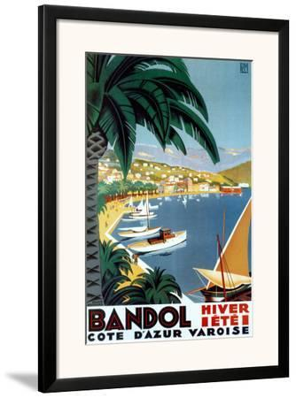Bandol Hiver Ete by Roger Broders