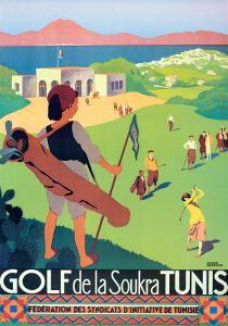 Golf de la Soukra Tunis by Roger Broders