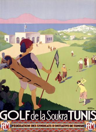 Golf de la Soukra, Tunis by Roger Broders