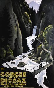Gorges de la Diosaz by Roger Broders