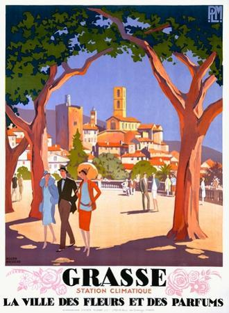 Grasse by Roger Broders