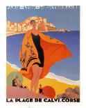 L'Ete sur la Cote d'azur-Roger Broders-Art Print