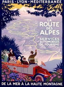 La Route des Alpes by Roger Broders