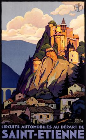 Saint Etienne by Roger Broders