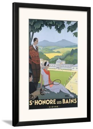 St. Honore les Bains by Roger Broders