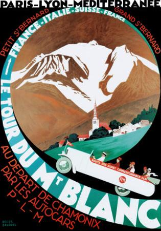 Tour Du Mt Blanc by Roger Broders