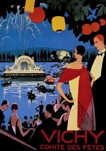 Vichy Comite des Fetes by Roger Broders