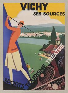 Vichy, Ses Soursec by Roger Broders