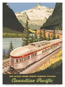Canada - Scenic Dome Route - Canadian Pacific Railway by Roger Couillard