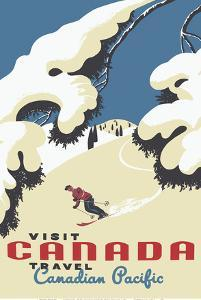Visit Canada - Skiing - Travel Canadian Pacific by Roger Couillard