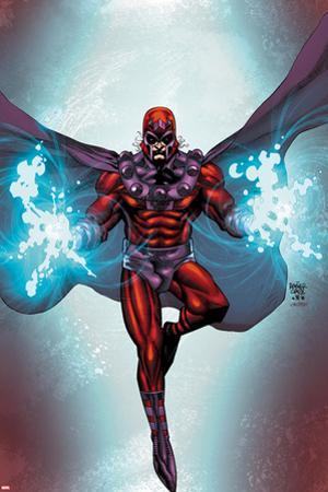 Magneto #1 Cover: Magneto Flying by Roger Cruz