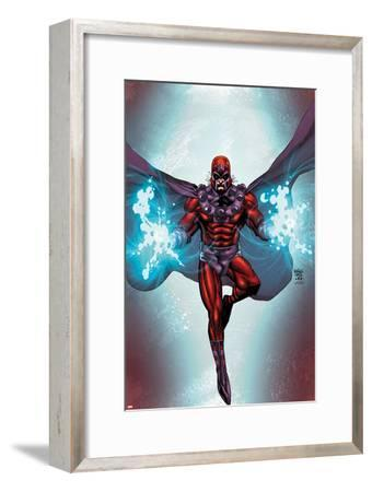 Magneto No.1 Cover: Magneto Flying