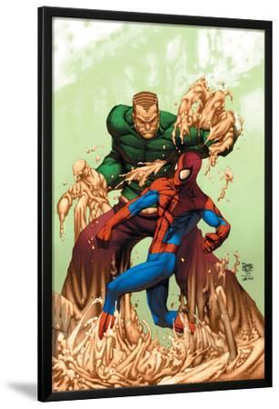 Marvel Age Spider-Man No.17 Cover: Spider-Man and Sandman