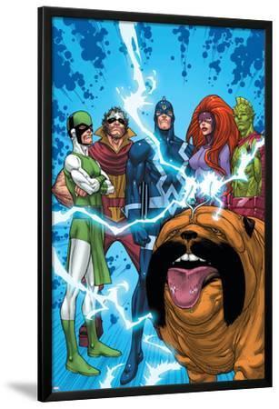 Uncanny X-Men: First Class No.1 Group: Black Bolt, Medusa, Lockjaw, Karnak, Gorgon and Triton