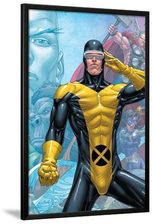 X-Men: First Class Finals No.3 Cover: Cyclops