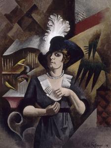 Alice au grand chapeau by Roger de La Fresnaye