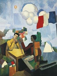 Conquest of Air, 1913 by Roger de La Fresnaye