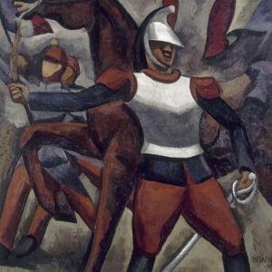 Cuirassier by Roger de La Fresnaye
