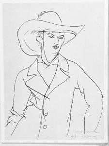 Raymond Radiguet 1921 by Roger de La Fresnaye