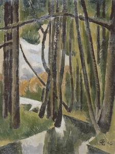 Sous-bois by Roger de La Fresnaye