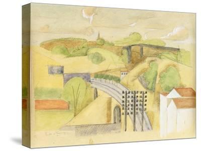 Study for the Meulan Viaduct; Etude Pour Le Viaduc de Meulan, 1912