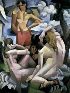 The Bathers, 1912 by Roger de La Fresnaye