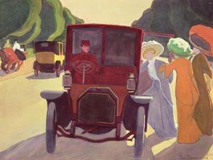 The Road with Acacias, 1908 by Roger de La Fresnaye