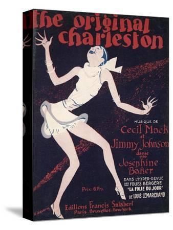 The Original Charleston, as Danced by Josephine Baker at the Folies-Bergere Paris