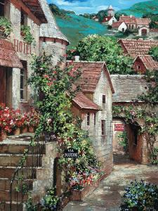 Italian Country Village I by Roger Duvall