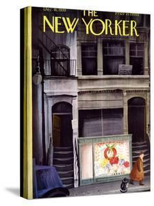 The New Yorker Cover - December 16, 1939 by Roger Duvoisin