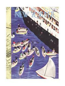 The New Yorker Cover - February 6, 1937 by Roger Duvoisin