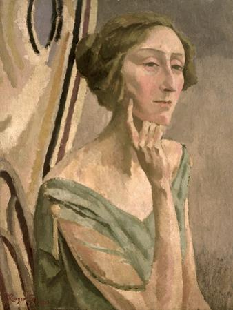 Portrait of Edith Sitwell (1887-1964), 1915 by Roger Eliot Fry