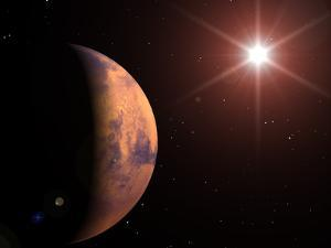 Mars by Roger Harris