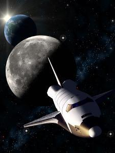 Space Shuttle Mission by Roger Harris