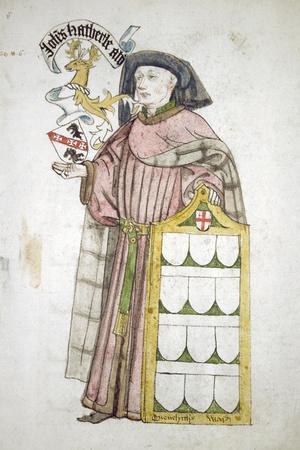 John Hatherle, Lord Mayor 1442-1443, in Aldermanic Robes, C1450