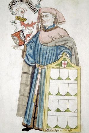 John Olney, Lord Mayor of London 1446-1447, in Aldermanic Robes, C1450