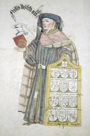 Nicholas Wyfold, Lord Mayor of London 1450-1451, in Aldermanic Robes, C1450