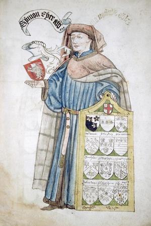 Simon Eyre, Lord Mayor of London 1445-1446, in Aldermanic Robes, C1450