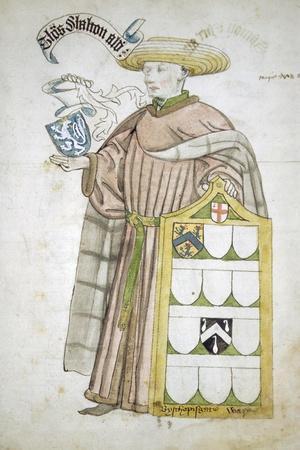 Thomas Chalton, Lord Mayor of London 1449-1450, in Aldermanic Robes, C1450